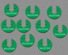 Routed - Green