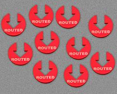 Routed - Red