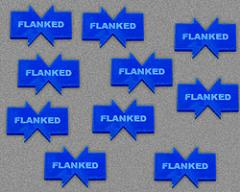 Flanked - Blue