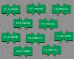 Flanked - Green