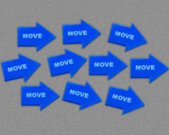 Move Command - Blue