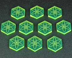 Energy Tokens - Fluorescent Green