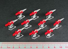 Mini Missile Markers - Red