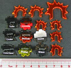 Gothic Vehicle Marker Set (15)