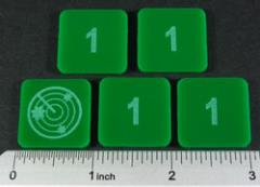 Numbered Radar Blips - 1