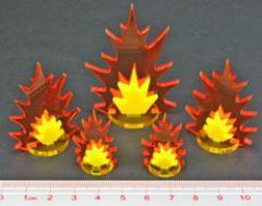 Artillery Strike Markers - Assorted Sizes