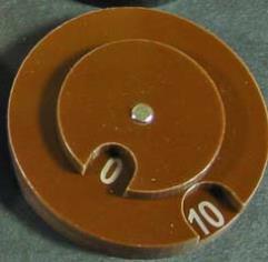 Combat Dial 0-100 - Brown