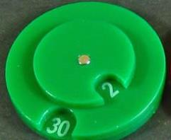 Combat Dial 0-100 - Green