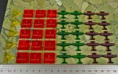 Axis & Allies - Angels 20, Combat Token Set