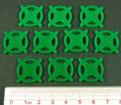 Eclipse - Star Base Tokens, Green
