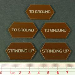 Standing Up/To Ground Tokens