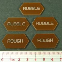 Rubble/Rough Tokens