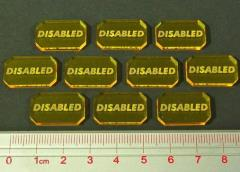 Space Wing - Disabled Tokens (10)