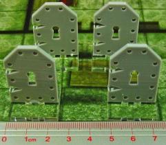 Metal Door Markers - Medium (4)