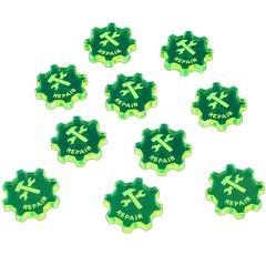 Command Tokens - Repair, Green