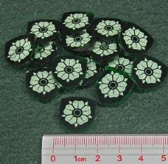 Power Tokens - House Rose, Translucent Green (15)