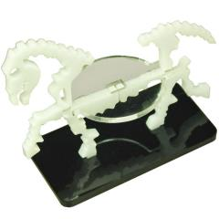 50x25mm Base - Skeletal Steed/Character Mount - White