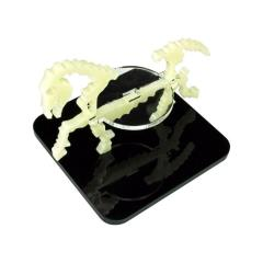 "2"" Square Base - Skeletal Steed/Character Mount Marker - Ivory"