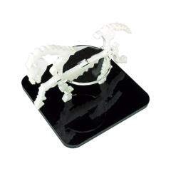 "2"" Square Base - Skeletal Steed/Character Mount Marker - White"