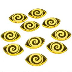 Cthulhu Focus Tokens - Transparent Yellow (10)