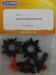 Mech Wreckage Markers (2)