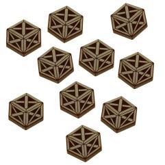 Cthulhu Resource Token Set - Brown
