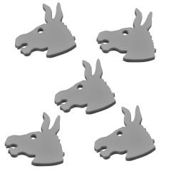 Donkey Tokens - Grey (5)