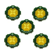 Premium 2-Tone Pinned Token Set
