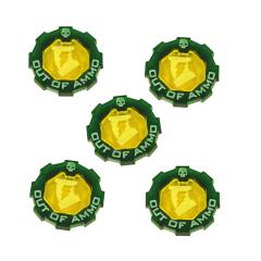 Premium 2-Tone Out of Ammo Token Set