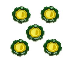Premium 2-Tone Hiding Wound Token Set (5)