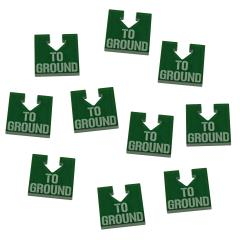 WHv8 - To Ground Tokens, Translucent Green (10)