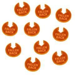 WHv8 - Fallen Back Tokens, Fluorescent Orange (10)