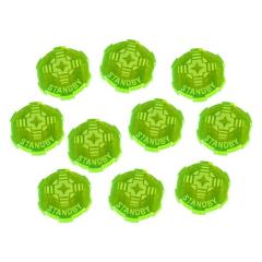 Standby Tokens - Fluorescent Green