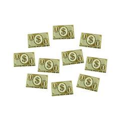 Cthulhu 1 Dollar Tokens - Transparent Bronze