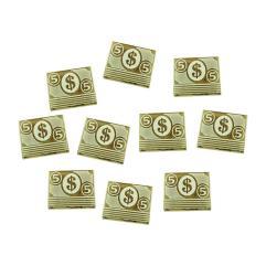 Cthulhu 5 Dollar Tokens - Transparent Bronze