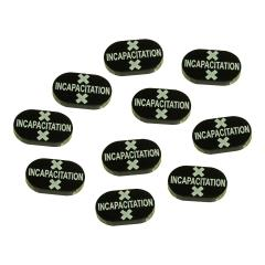 Incapacitation Tokens - Black
