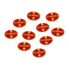 Vulnerable Tokens - Fluorescent Amber