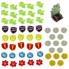 Ice and Fire Token Upgrade Set - Multi-Color
