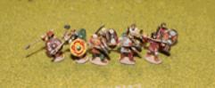 Late Saxon Fyrd (Charging)