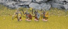 Late Saxon Huscarls (Sword/Spear)