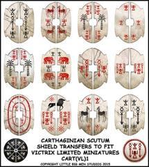 Carthaginian Scutum Shields - Type #1