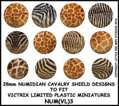 Numidian Cavalry Shields - Type #3