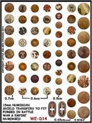 Numidian Round Shields