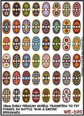 Early Persian Shields