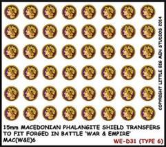 Macedonian Phalangite Shields - Type 6