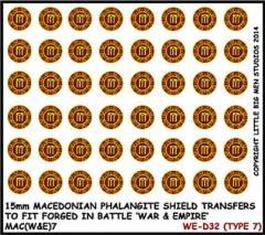 Macedonian Phalangite Shields - Type 7