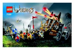 Army of Vikings w/Heavy Artillery Wagon