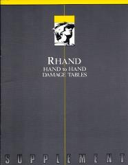 Rhand - Hand to Hand Damage Tables
