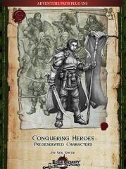 Conquering Heroes - Pregenerated Characters (5E)