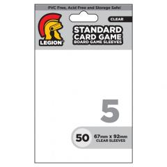 American Board Game Card Sleeves - Clear (50)